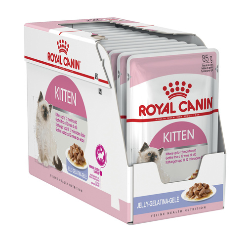 Royal Canin Instinctive Moist Kitten Food in Jelly x 12 Pouches main image