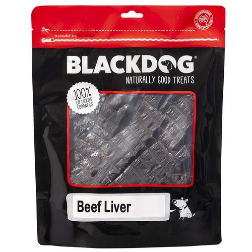 Dried Beef Liver 100% Australian 1kg