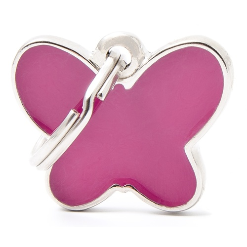 My Family Pet ID Tag Butterfly Charm ~ Includes FREE Engraving