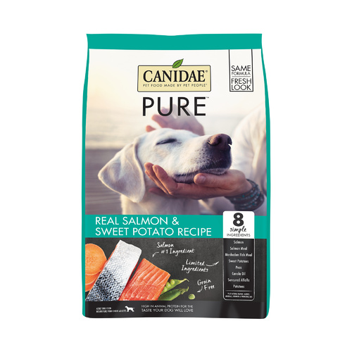 CANIDAE PURE Sea Grain Free Formula with Fresh Salmon Dry Dog Food 5.4kg main image