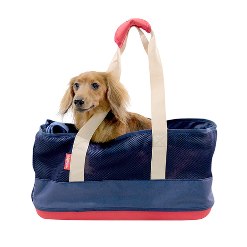 Ibiyaya Light Pet Carrier with Hardshell Base for Dachshunds & Long Pets  main image