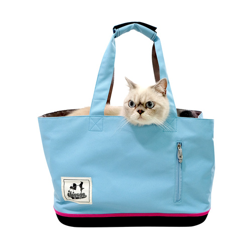 Ibiyaya Canvas Pet Carrier Tote for Cats & Dogs up to 7kg main image