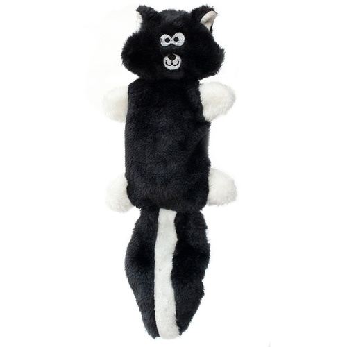 Zippy Paws Stuffing Free Squeaker Dog Toy - Zingy Skunk