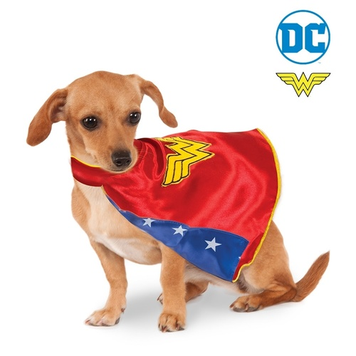 Wonder Woman DC Deluxe Cape Pet Costume
