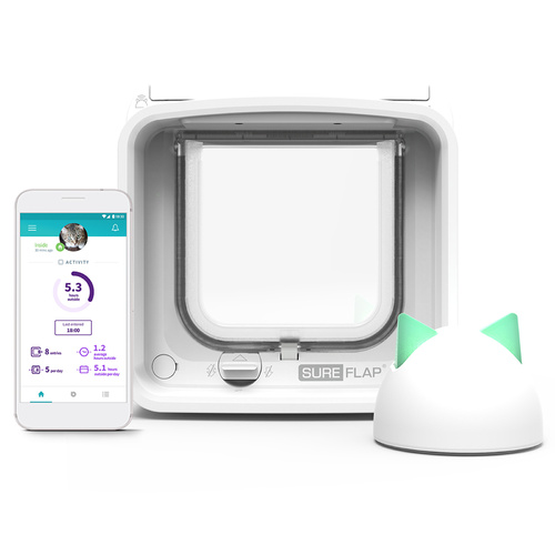 Sure Petcare Sureflap Microchip Connect Cat Door (Small) & Connect Wifi Hub Option